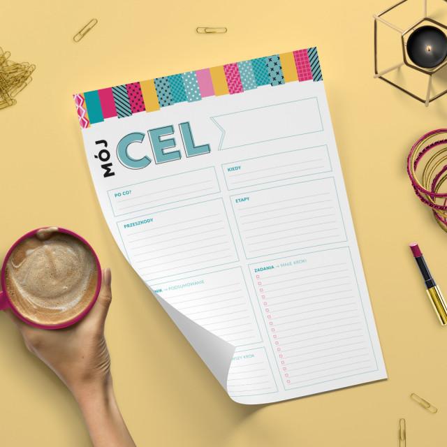 Plan Celu to narzędzie dla tych z Was, które chcą znaleźć/określić jasno swój cel i... zrealizować go! - bloczek