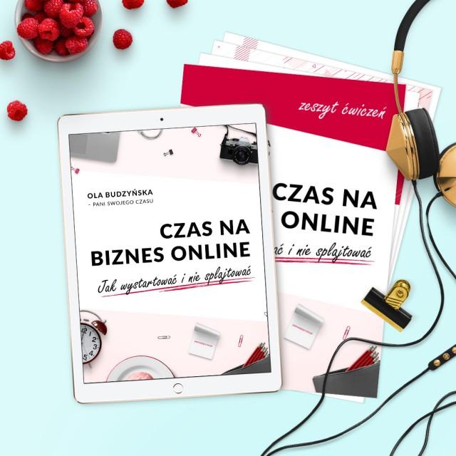 Ebook Czas na biznes online