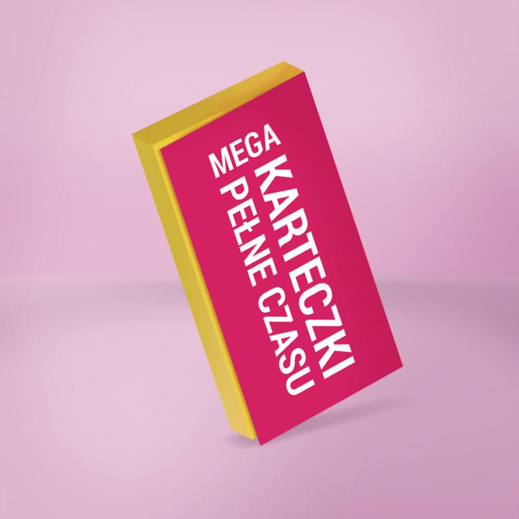MEGA Elektrostatyczne Karteczki Pełne Czasu to świetnie narzędzie do codziennego planowania - żółte
