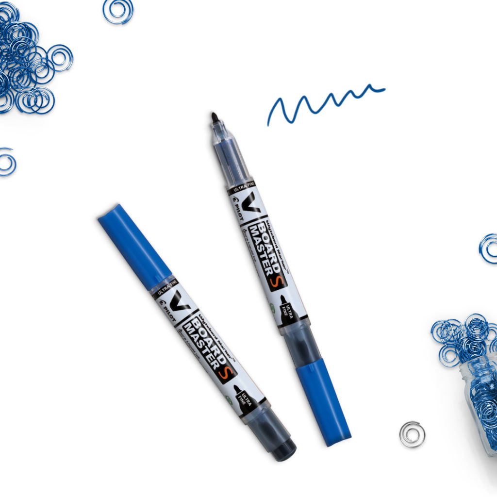 Suchościeralny niebieski marker V-Board Master S