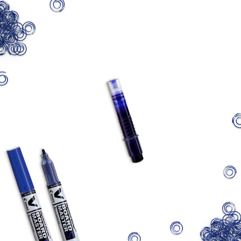 Wkład do markera suchościeralnego niebieski