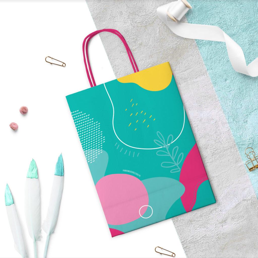 Kolorowa torba prezentowa