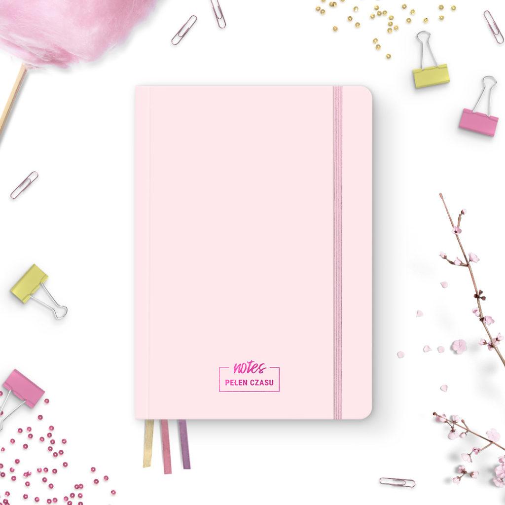 Pakiet 3 notesów z kolekcji #pastelove Pani Swojego Czasu - kolory
