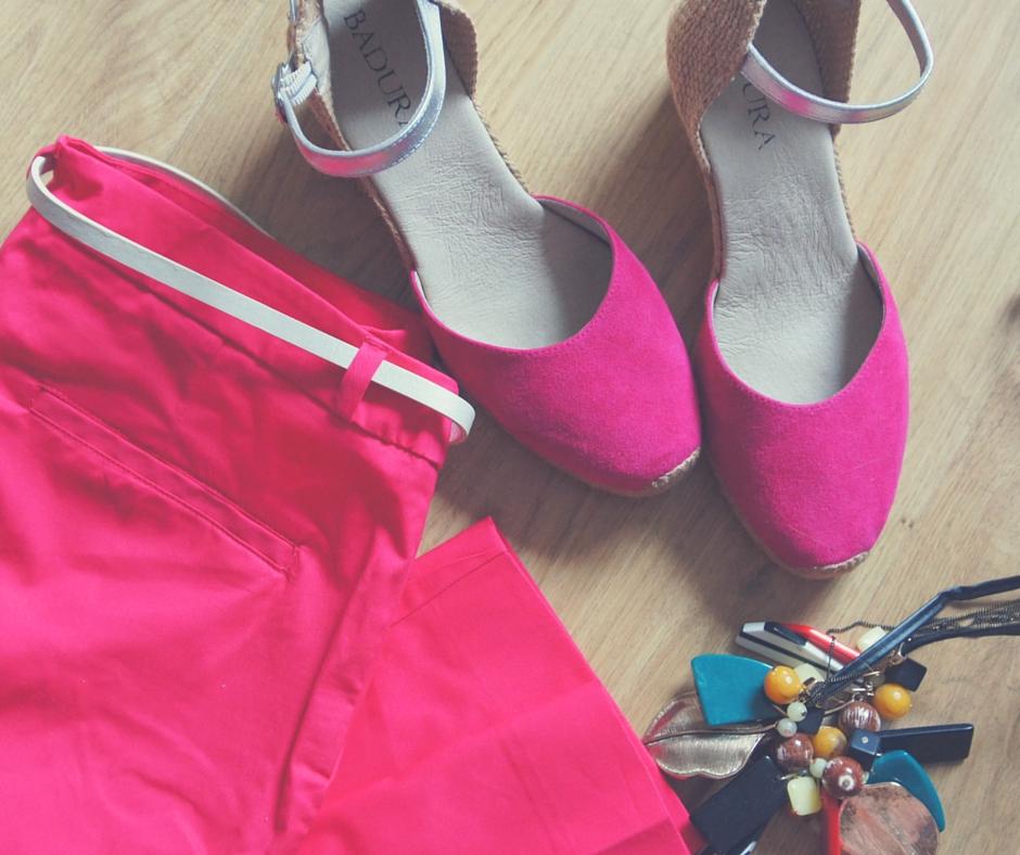 Buty i gacie w kolorach PSC
