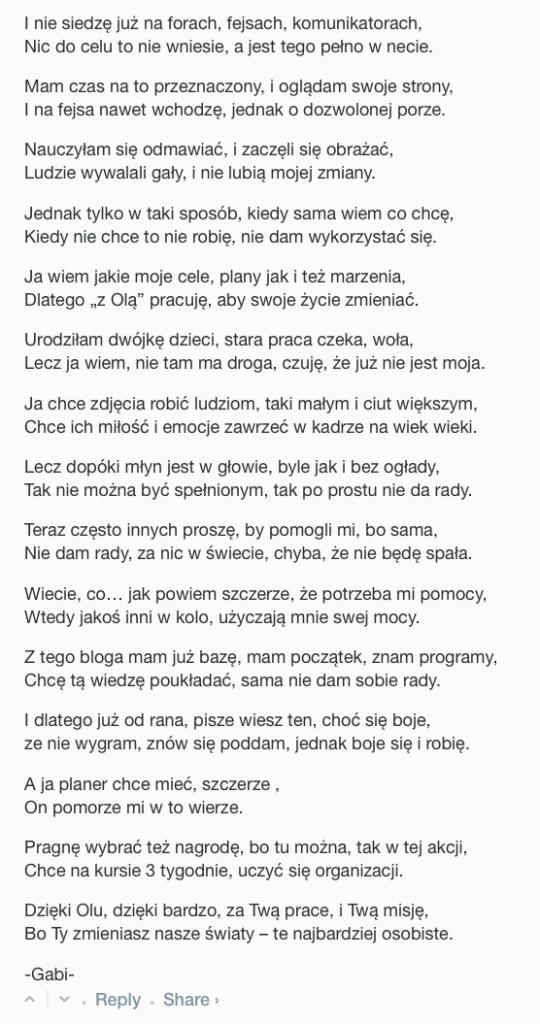 Gabriela Knechciak #2urodzinypsc