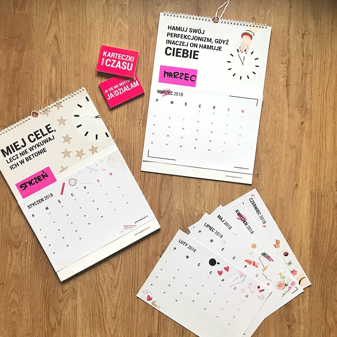 jak zrobić kalendarz diy