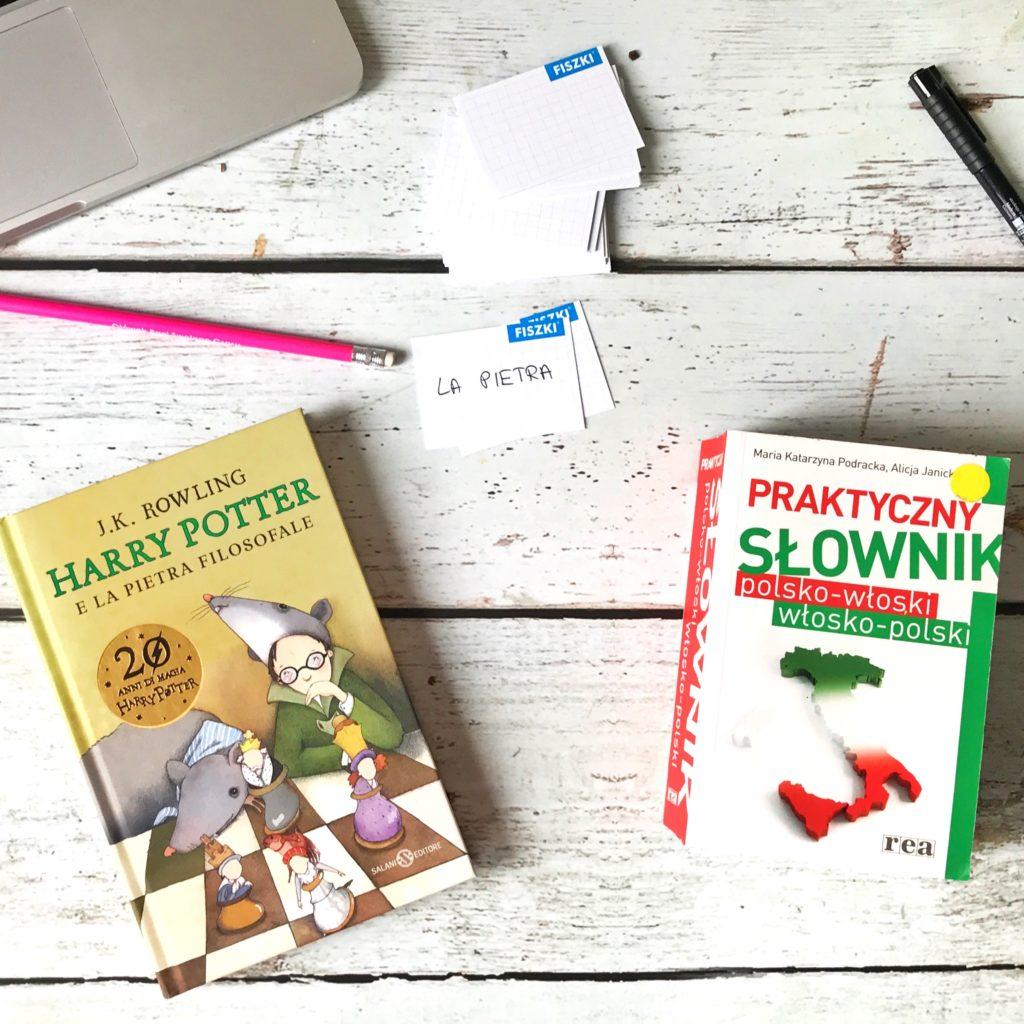 Harry Potter po włosku - jak uczę się włoskiego