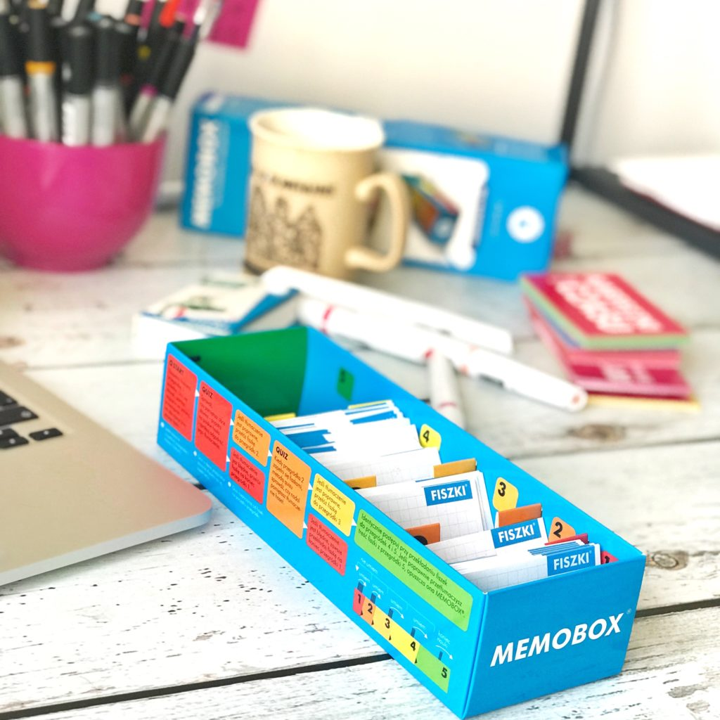 memobox i fiszki - jak uczę się włoskiego