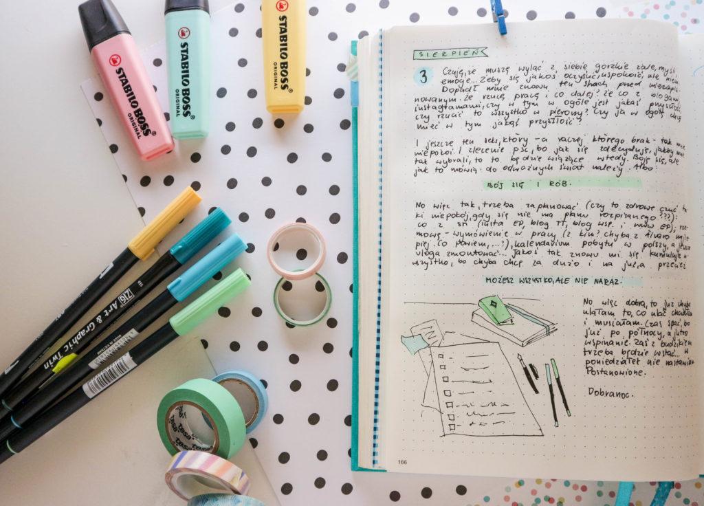 Jak planować w Bullet Journal? Jak dopasować planer do siebie?