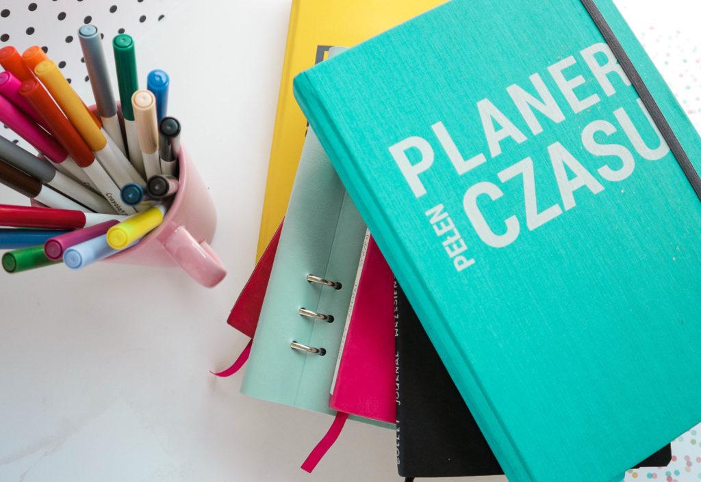 Bullet Jurnal w Planerze Pełnym Czasu - planuj tak jak lubisz, po swojemu