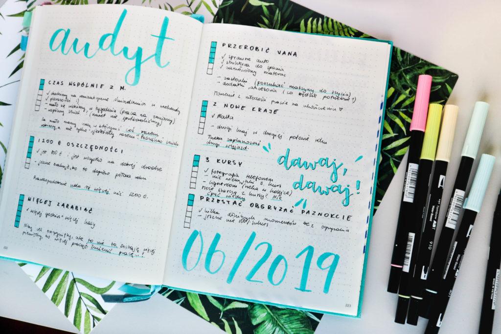 Jak planować w bullet journal