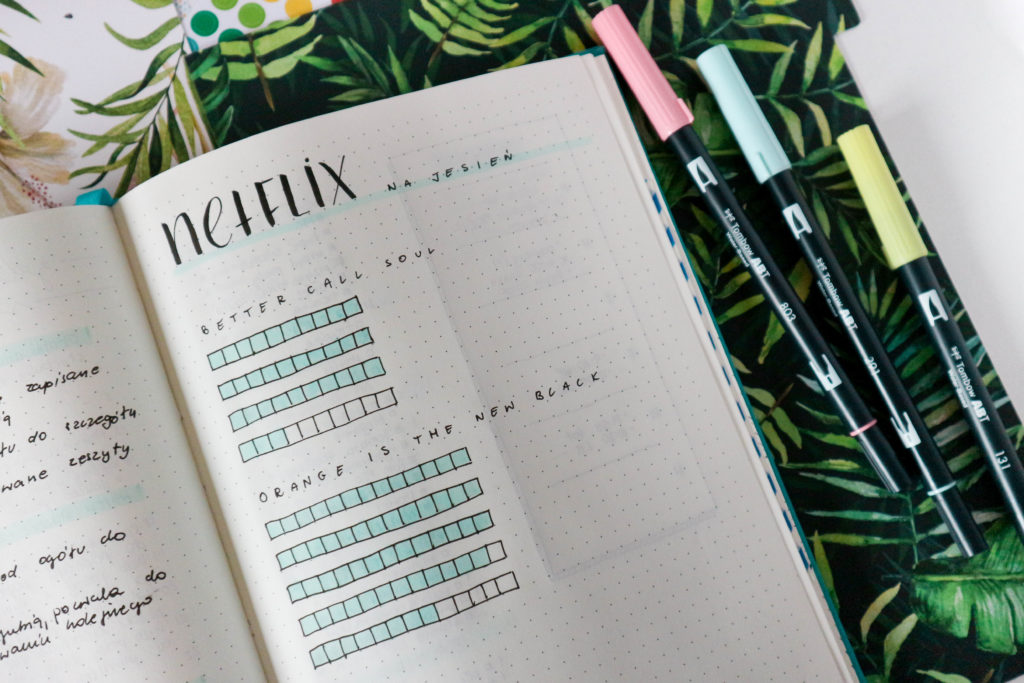 Habit tracker w bullet journalu - jak go używać do budowania nawyków