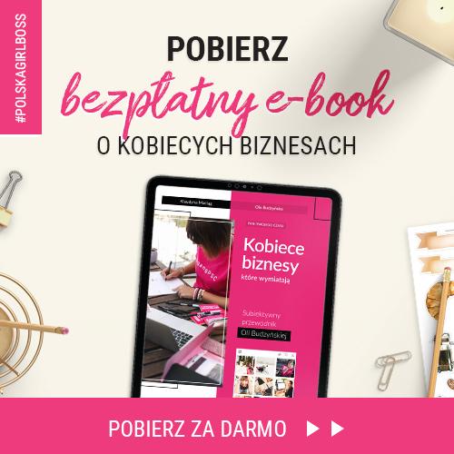 """<strong>E-book</strong><br><strong>""""Kobiece biznesy""""</strong>"""