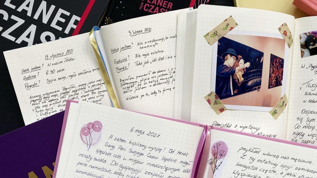 Różne pamiętniki, Planer Pełen Czasu Śliwka