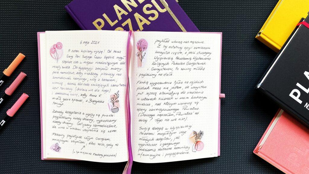 Wypełniony pamiętnik. Planery Pełne Czasu - Puderniczka 2.0 i Śliwka