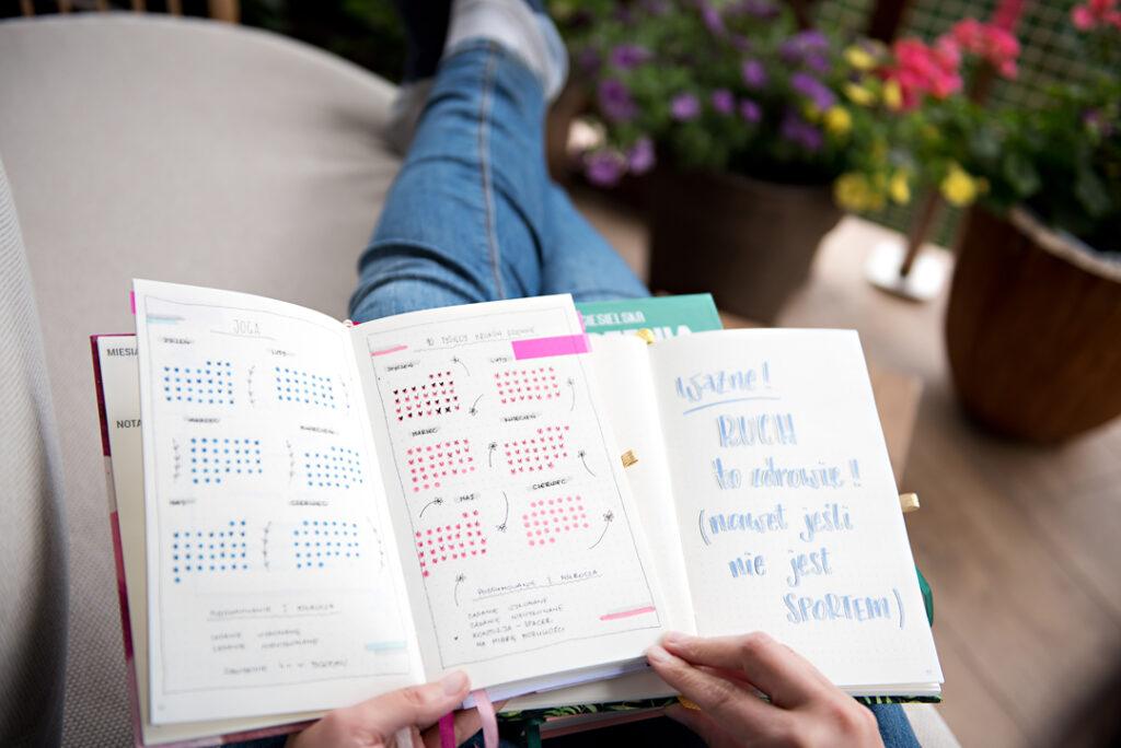 Kalendarz pełen czasu.